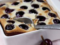 Cherry and Kirsch Batter Pudding recipe