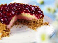 Cherry and Vanilla Ice Cream Cake recipe