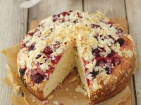 Cherry Cake with Almonds recipe