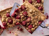 Cherry Crumble Tart recipe