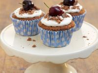 Cherry Chocolate Individual Cakes recipe