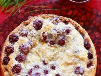 Cherry Meringue Cake recipe