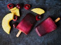 Cherry Pineapple Ice Lollies recipe