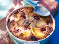 Cherry, Plum and Apricot Cobbler recipe