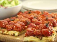 Cherry Tomato and Cheese Puff Pastry Tart recipe