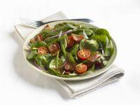 Cherry Tomato and Spinach Salad recipe