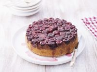 Cherry Upside-down Cake recipe
