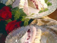 Cherry-Vanilla Ice Cream Cake with Poppy Seeds recipe