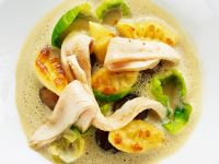 Chestnut and Brussels Sprout Soup with Pheasant recipe