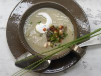 Chestnut and Potato Soup recipe