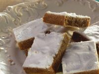 Chestnut Squares with Topping recipe