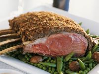 Chestnut-Crusted Roast Loin of Veal recipe