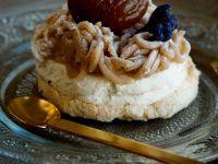 Chestnut Meringue Tart recipe