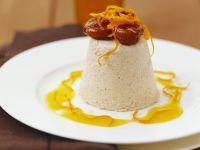 Chestnut Parfait with Orange Sauce recipe