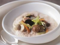 Chestnut Soup with Truffles recipe