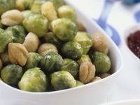 Chestnuts and Brussels Sprouts recipe