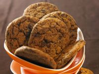 Chewy Choc Biscuits recipe
