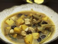 Chicken and Artichoke Broth recipe