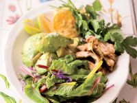 Chicken and Avocado Salad recipe