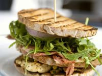 Chicken and Bacon Grilled Sandwich recipe