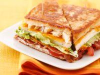 Chicken and Bacon Sandwiches recipe