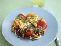 Chicken and Bell Pepper Salad recipe