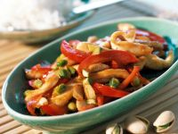 Chicken and Bell Pepper Skillet recipe
