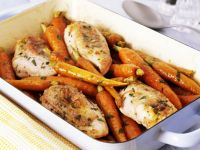 Chicken and Carrot Oven Bake recipe