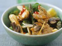Chicken and Corn Stir Fry recipe