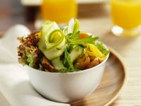 Chicken and Courgette Salad Bowl recipe