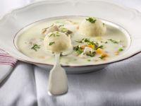 Chicken and Dumpling Cream Soup recipe