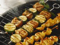 Chicken and Fish Skewers recipe