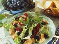 Chicken and Grape Salad recipe