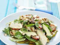Chicken and Grilled Pumpkin Salad recipe