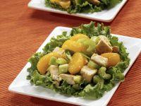 Chicken and Mandarin Orange Salad with Celery recipe