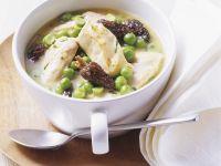 Chicken and Mushroom Fricassee recipe
