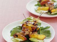 Chicken and Nectarine Kabobs recipe