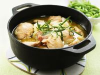Chicken and Onion Stew recipe