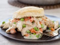 Chicken and Pea Pie with Buttermilk Scones recipe