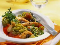 Chicken and Pepper Pasta recipe