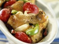 Chicken and Pepper Saute recipe