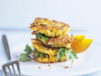 Chicken and Pumpkin Cakes recipe