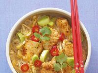 Chicken and Rice Noodle Soup recipe