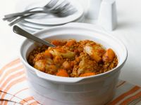Chicken and Sliced Vegetable Casserole recipe