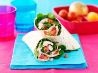 Chicken and Spinach Wraps recipe