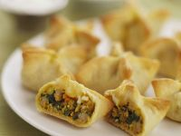 Chicken and Sweet Potato Curry Puffs