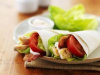 Chicken and Tomato Wraps recipe