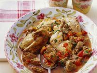 Chicken and Veal Fricassee recipe