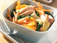 Chicken and Vegetable Salad with Mandarin Oranges recipe
