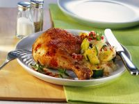 Chicken and Vegetables with Rice recipe
